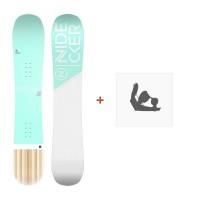 Snowboard Nidecker Elle 2019 + Fixation de SnowboardSN190225