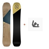 Snowboard Nidecker Escape 2019 + Fixation de SnowboardSN190125