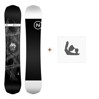 Nidecker Snowboard Era 2019 + Fixation de SnowboardSN190135