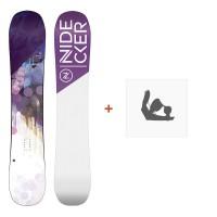 Nidecker Snowboard Angel 2019 + Fixation de SnowboardSN190220