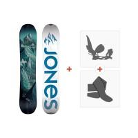 Jones Splitboards Discovery 2020+ Fixations de Splitboard + PeauxSJ190270