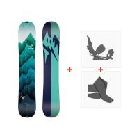 Jones Splitboards Women'S Solution 2019+ Fixations de splitboard + peauxSJ190240