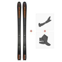 Ski Dynastar Vertical Factory 2019 + Fixations randonnée + Peau