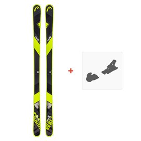 Ski Head Frame Wall 84 2019 + Fixation de ski315508