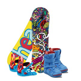 Snowboard Head Rowdy Kid 2017 + Fixation + Chaussures336806