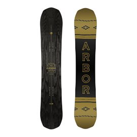 Snowboard Arbor Element Black Camber 201911913F18