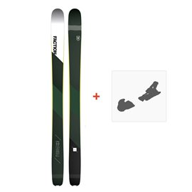 Ski Faction Prime 3.0 2019 + Fixation de SkiSKI-1718-PRM30