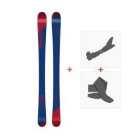 Ski Faction Candide 0.5 2019 + Fixations randonnée + PeauFCTN-SKW19-CT05Z-ZZZ