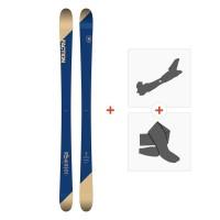 Ski Faction Candide 1.0 2019 + Fixations randonnée + Peau