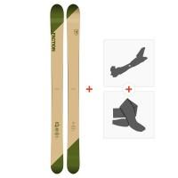 Ski Faction Candide 4.0 2019 + Fixations randonnée + Peau