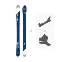 Ski Faction Candide 1.0 JR 2018 + Fixations randonnée + PeauSKI-1718-CT10JR
