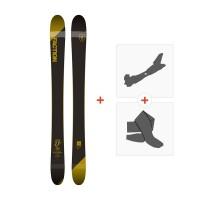 Ski Faction Candide 2.0 JR 2018 + Fixations randonnée + PeauSKI-1718-CT20YTH