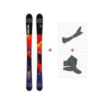 Ski Faction Prodigy 0.5 2019 + Fixations randonnée + PeauFCTN-SKW19-PR05Z-ZZZ