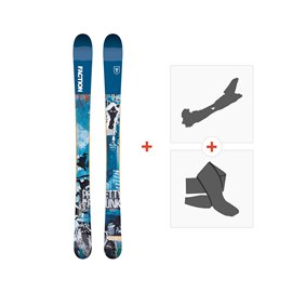 Ski Faction Prodigy 0.5 x 2019 + Fixations randonnée + Peau