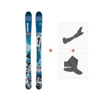 Ski Faction Prodigy 0.5 x 2019 + Fixations randonnée + PeauFCTN-SKW19-PR05X-ZZZ