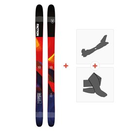 Ski Faction Prodigy 2.0 2019 + Fixations randonnée + Peau