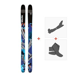 Ski Faction Prodigy 2.0 x 2019 + Fixations randonnée + Peau