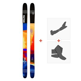 Ski Faction Prodigy 3.0 2019 + Fixations randonnée + Peau