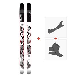 Ski Faction Prodigy 3.0 Colab 2019 + Fixations randonnée + Peau