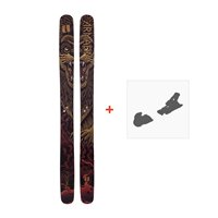 Ski Armada Magic J 2019 + Fixation de skiRAST00018