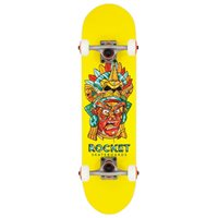 Rocket Complete Skateboard Mini Mask Aztec 7.37'' 2019RKT-COM-1520