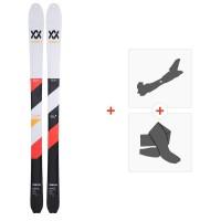 Ski Volkl VTA88 lite 2019 + Fixations de ski randonnée117011