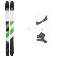 Ski Volkl Vta108 lite 2019 + Fixations de ski randonnée117011