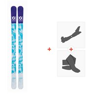 Ski Volkl Bash 86 W 2019 + Fixations de ski randonnée117011