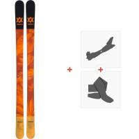 Ski Volkl Bash 89 2019 + Fixations de ski randonnée117011
