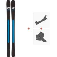 Ski Völkl Kendo 2019 + Fixations de ski randonnée118406