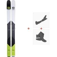 Volkl BMT109 2019 + Fixations de ski randonnée117011