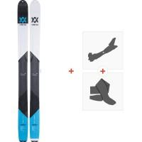 Volkl BMT122 2019 + Fixations de ski randonnée117011