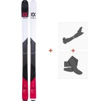 Volkl BMT90 2019 + Fixations de ski randonnée117011