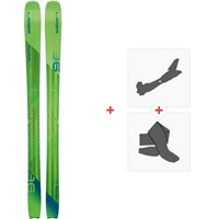 Ski Elan Ripstick 96 2020 + Fixations de ski randonnée + PeauxAD1DXG18