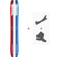 Ski K2 Marksman 2019  + Fixations de ski randonnée10C0301
