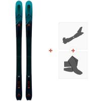 Ski Salomon T MTN Explore 95 2019 + Fixations de ski randonnée