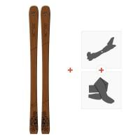 Ski Goodboard Belua 2019 + Fixations de ski randonnée