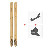 Ski Goodboard Draco 2018 + Fixations de ski randonnée