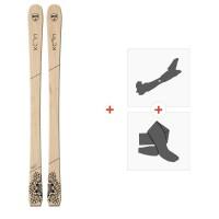 Ski Goodboards Crux Tail Rocker 2019 + Fixations de ski randonnée