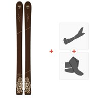Ski Goodboards Lupi Tip Rocker 2019 + Fixations de ski randonnée