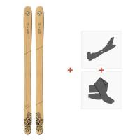 Ski Goodboards Pike 2019 + Fixations de ski randonnée