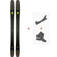 Ski Rossignol Soul7 HD 2019 + Fixations de ski randonnéeRAGQN01