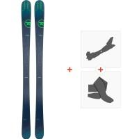 Ski Rossignol Experience 84 AI 2019 + Fixations de ski randonnéeRAHFI02