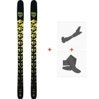 Ski Black Crows Orb 2019 + Fixations de ski randonnée100451