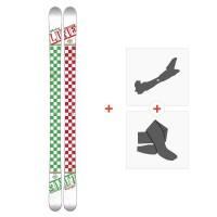 Ski Line Afterbang 2016 + Fixations de ski randonnée