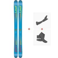 Ski Line Gizmo 2018 + Fixations de ski randonnée19B0303.101