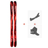 Ski Line Honey Badger 2019 + Fixations de ski randonnée19C0008.101.1
