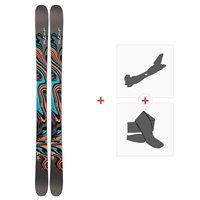Ski Line Honey Bee 2019 + Fixations de ski randonnée19C0020.101.1
