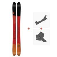 Ski Line Mordecai 2018 + Fixations de ski randonnée19B0002.101.1