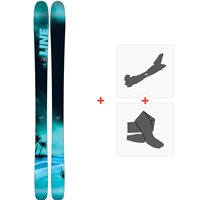 Ski Line Sick Day 104 2018 + Fixations de ski randonnée19B0012.101.1.